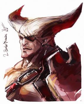 Iron Bull Speed painting