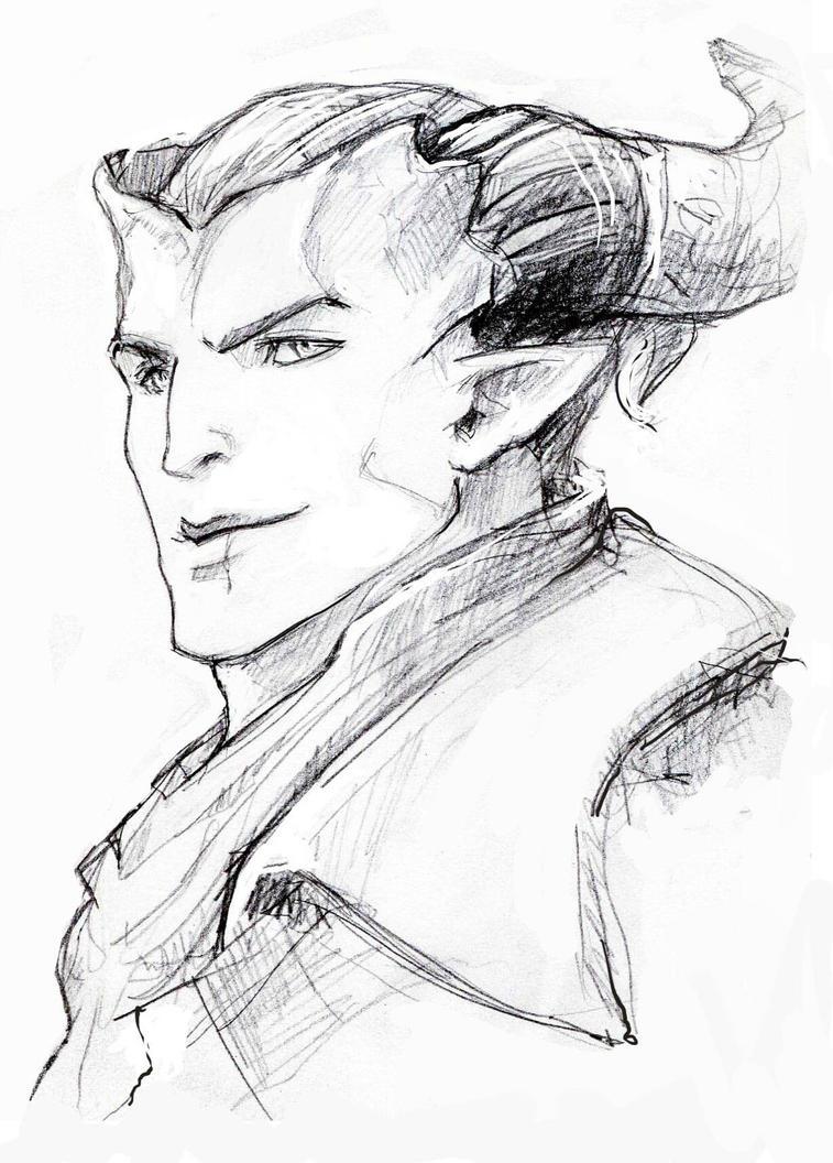 Kaaras sketch by Aiuke