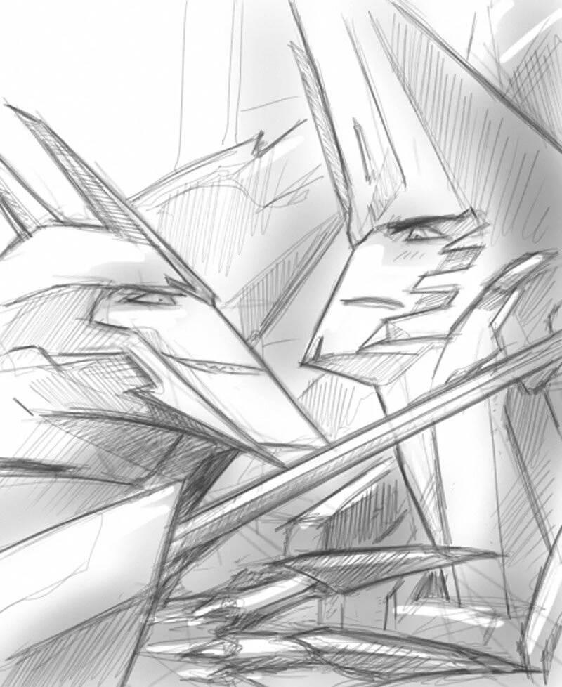 Fracture VS Sideswipe by Aiuke