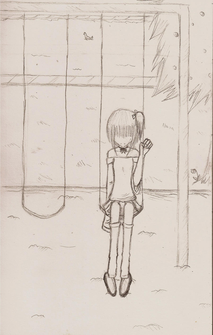 Swinging with No One by eeveelover893