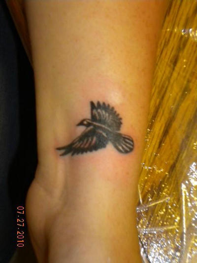 Raven Tattoo by ~cheshirepinky on deviantART