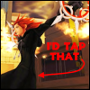 I'd tap that....Axel by KingdomHeartsPyro