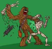 Wookie Rage by Haaspodge