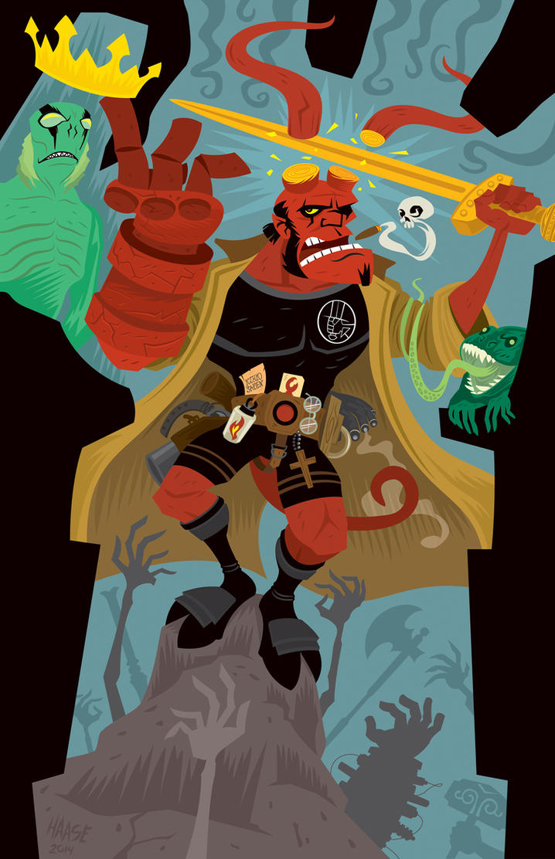 Hellboy 20th by Haaspodge