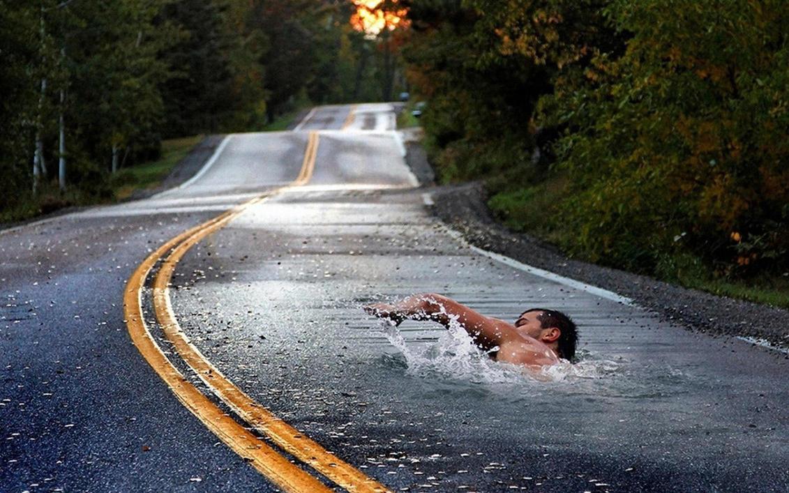 Road To Paradise by ALKAP0NE