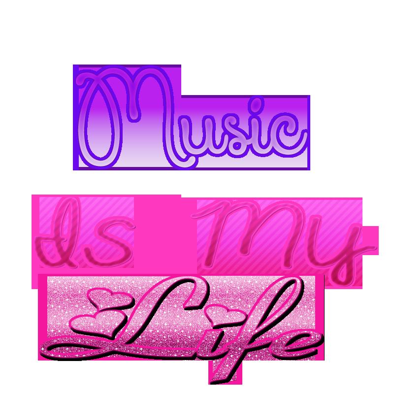 Music Is My Life Png By Gailmariejimenez16 On Deviantart