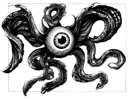 One Eyed Tentacle Beast Fin