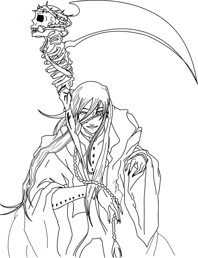Undertaker Kuroshitsuji Adobe Illustrador By
