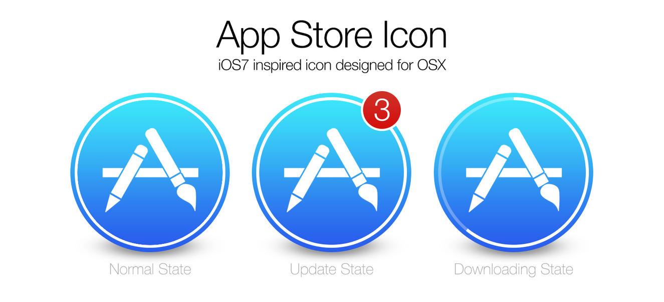 iOS7 App Store ...