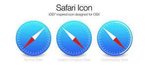 iOS7 Safari icon for OSX