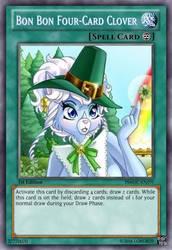 Four-Card Clover (Pleasure Bon Bon) Yu-Gi-Oh! Card by LordR29