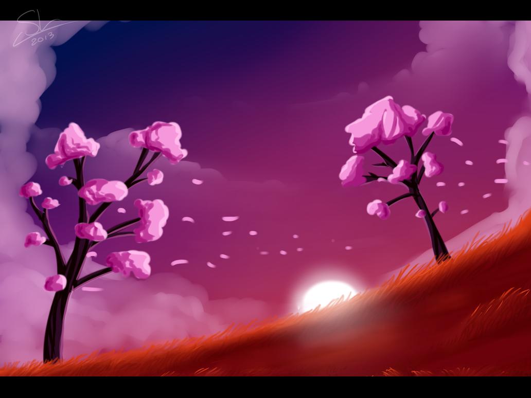 Random Landscape by Skaylina