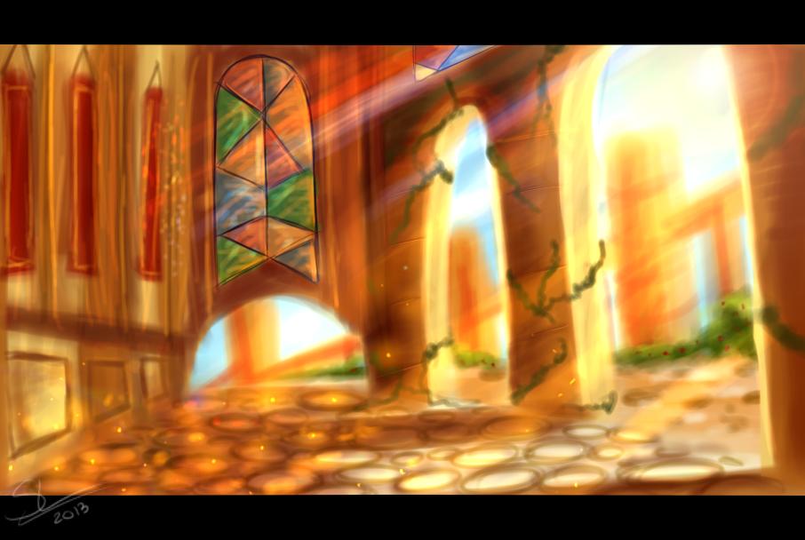 Raito City - Concept Art by Skaylina