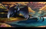 Aqua and Shadow
