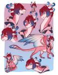 KH: Kairi Dragon Form by Skaydiex