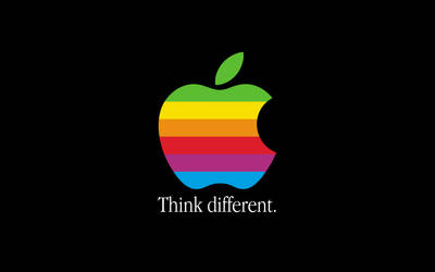 Think Different Retina by howiedi2