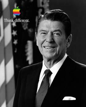 Ronald Reagan Think different