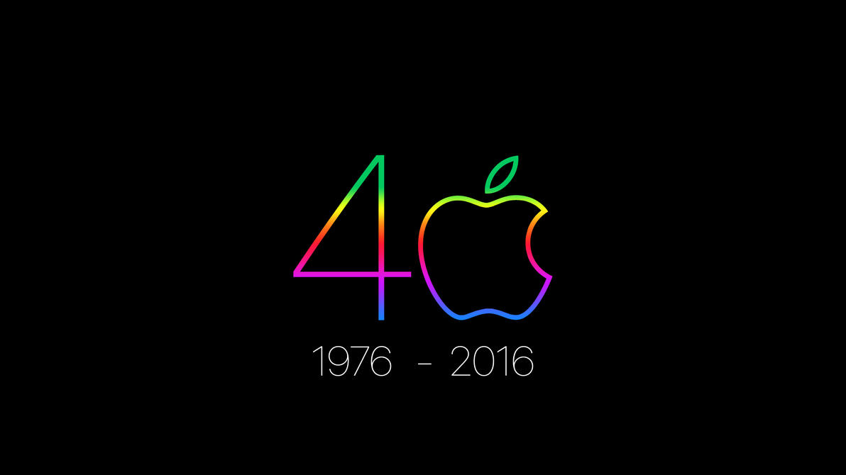 Apple 40th Anniversary - April 1, 2016 by howiedi2
