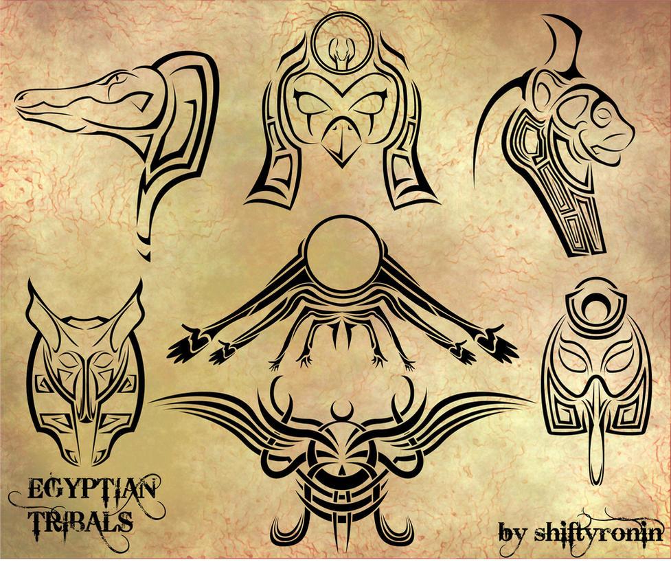 egyptian tribals by shiftyronin on deviantart. Black Bedroom Furniture Sets. Home Design Ideas