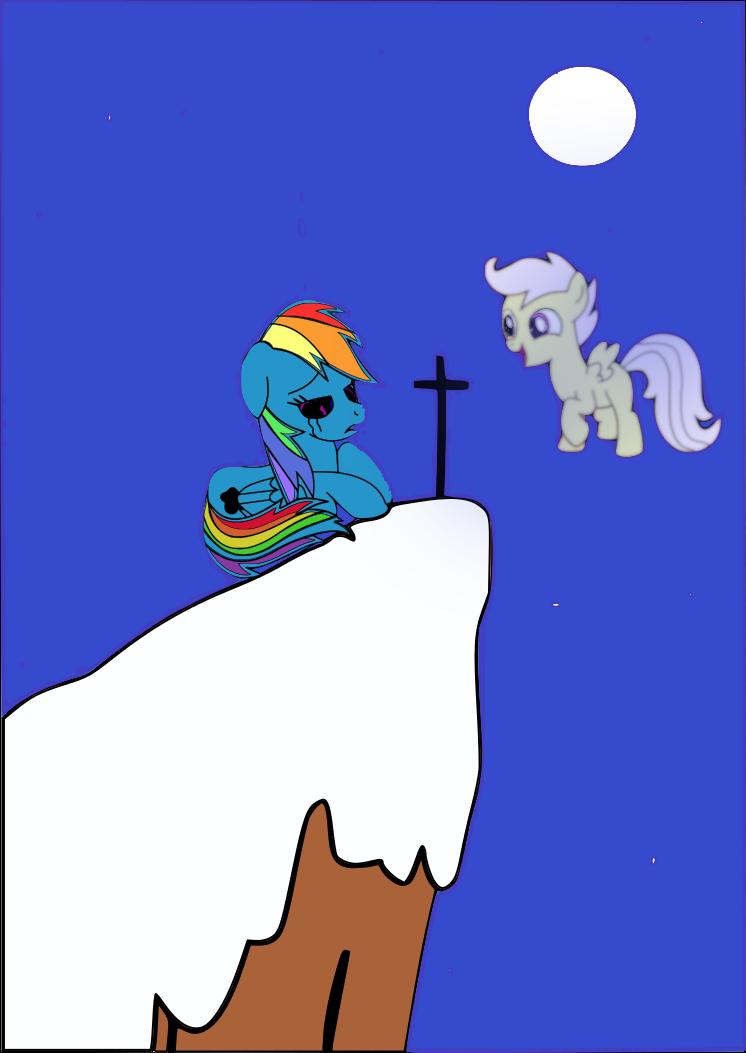 Rainbow Dash Sad By Cutefillyrainbowdash On Deviantart Soarin and rainbow dash pictures. rainbow dash sad by
