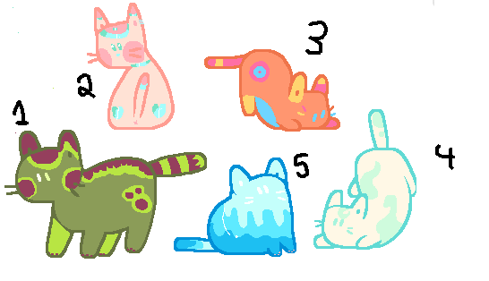 Kitty adopts - open by Caomha