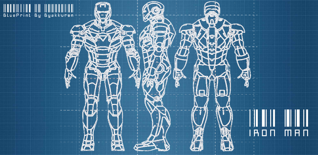 Blueprint For Ironman Images Pictures Becuo