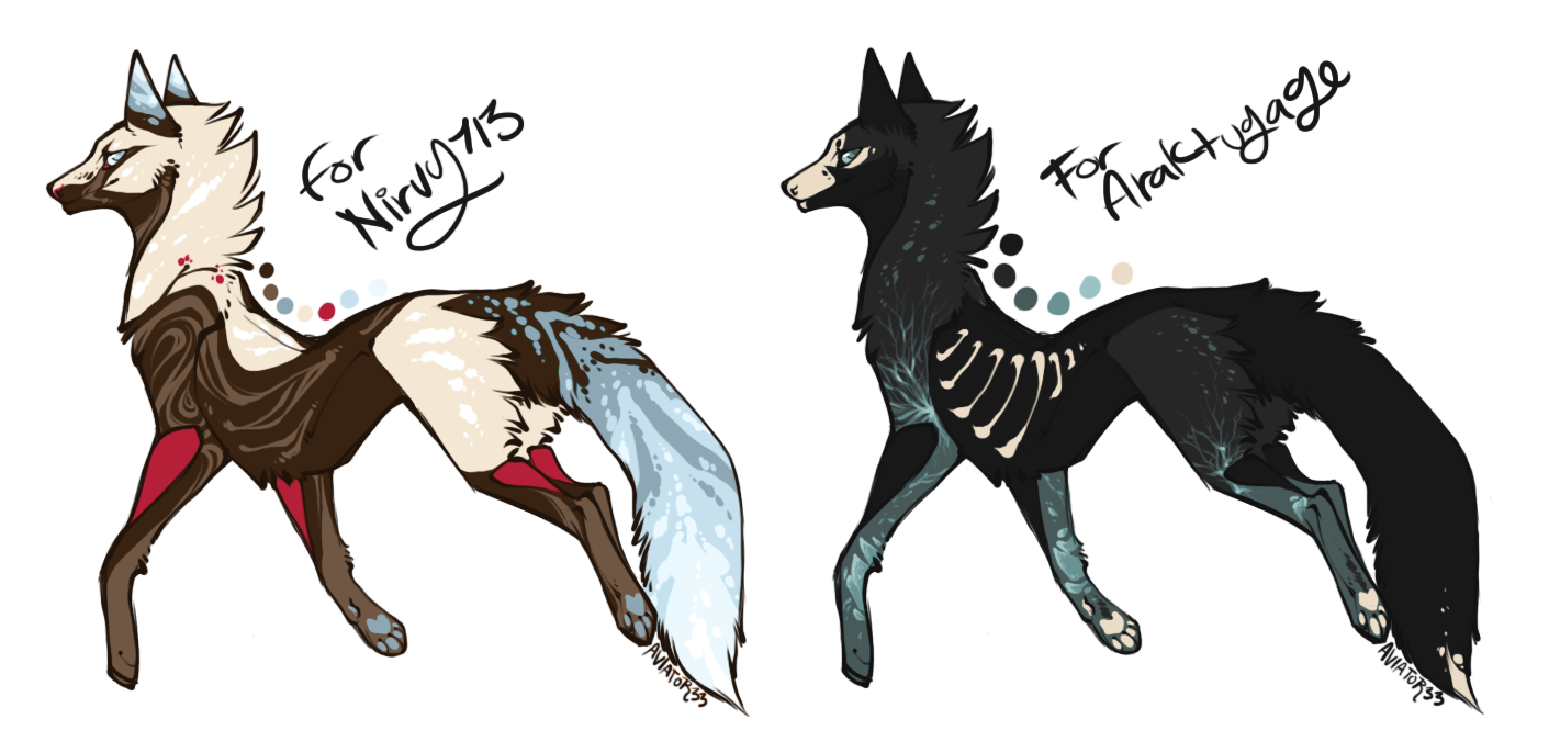 more fox customs by Hauket