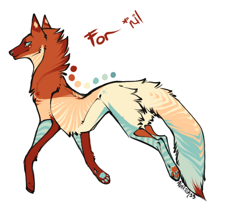 Custom fox for nil by Hauket