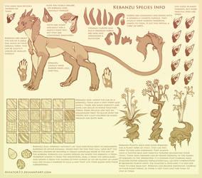 Kebanzu Species Ref Sheet