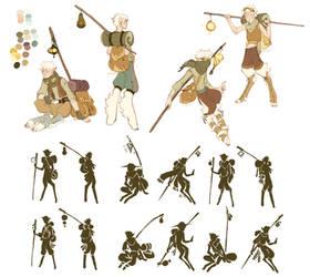 Shapeshifter Nomad Sketches