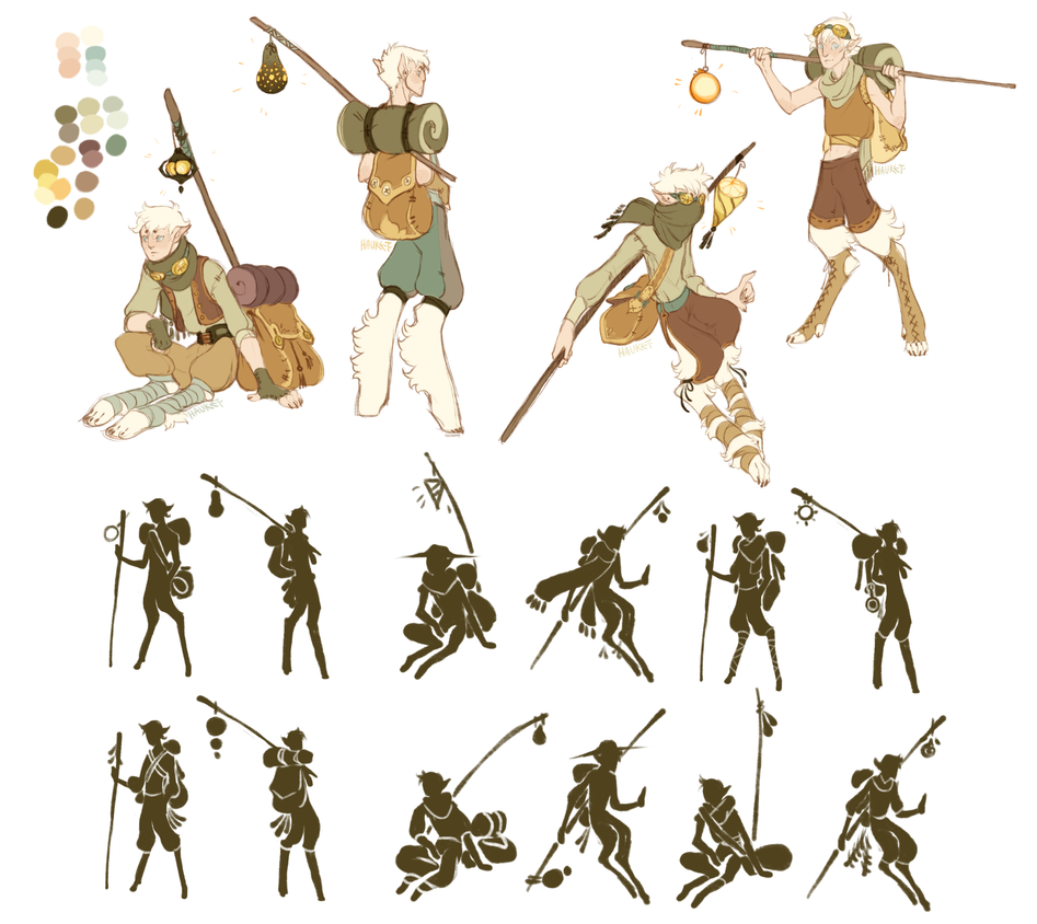 Shapeshifter Character Design : Shapeshifter nomad sketches by hauket on deviantart