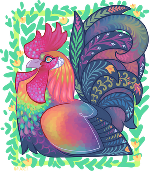 Weird Rooster