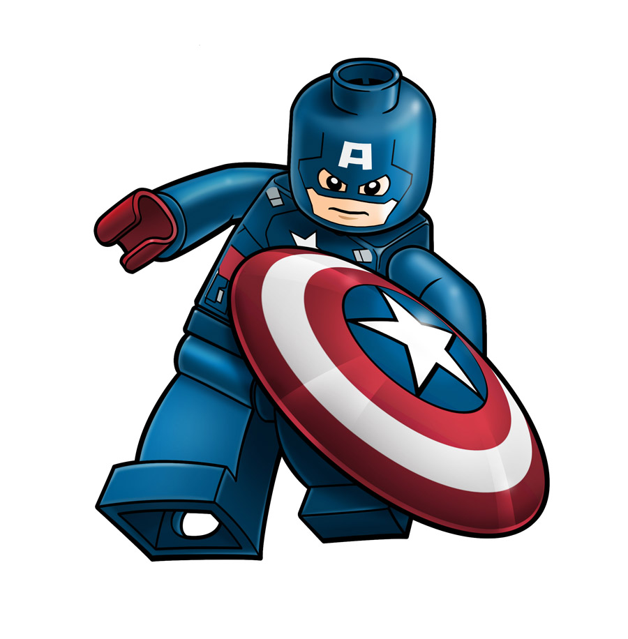 Avengers lego captain america by robking21 on deviantart - Lego capitaine america ...