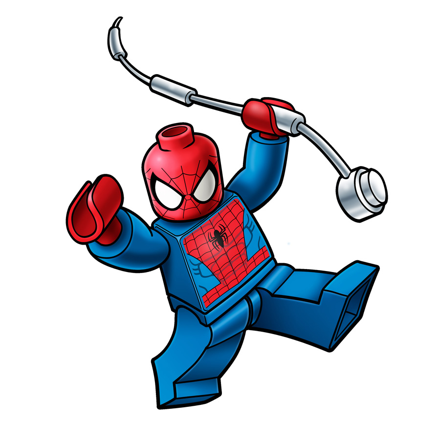 Marvel Lego Packaging - Spiderman by RobKing21