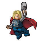 Avengers Lego packagin - THOR