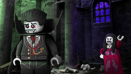LEGO Monster Fighters - Lord Vamprye gets nagged by RobKing21