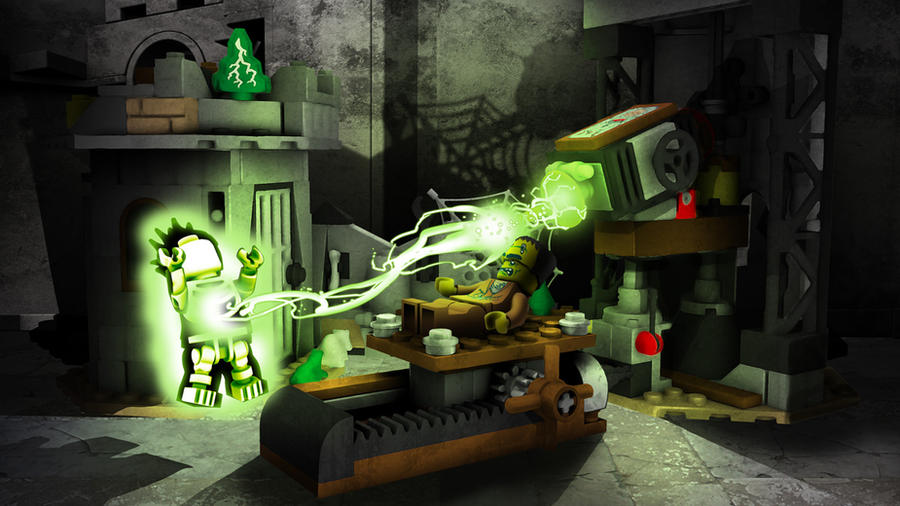 lego monster fighters crazy scientist by robking21 - Lego Monstre