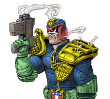 Judge Dredd - judgement was issued by RobKing21