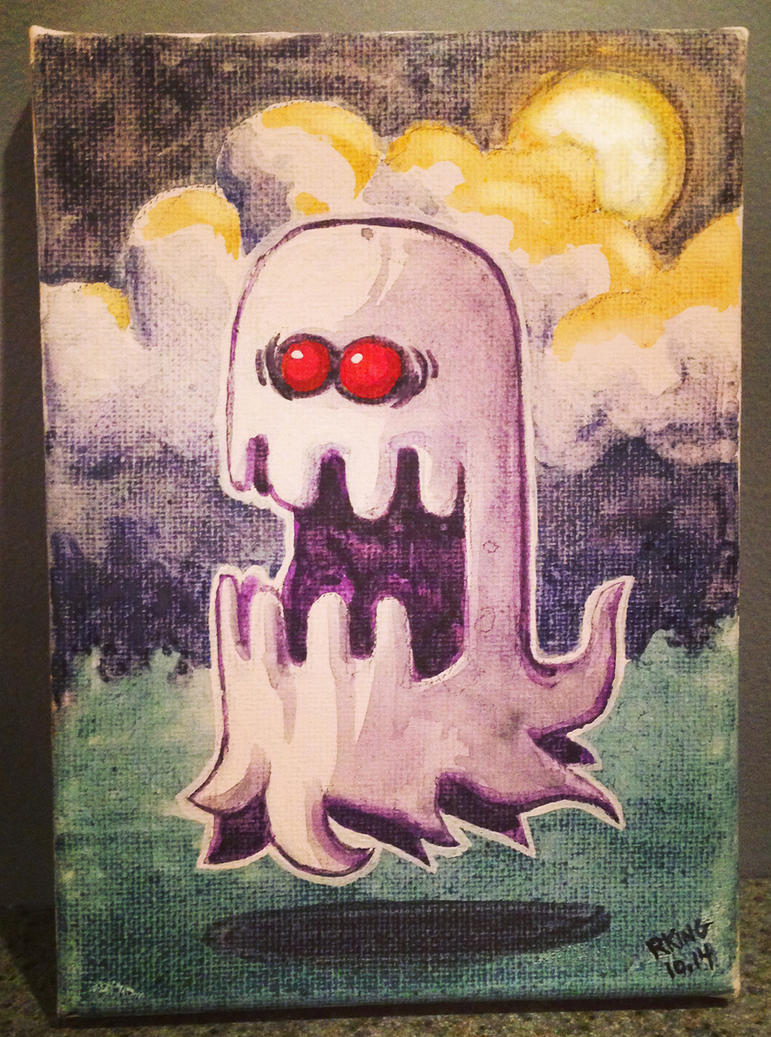 Ghastly Ghost by RobKing21