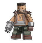 FF7 Barret minifigure
