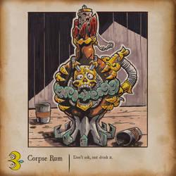 Inktober - Corpse Rum
