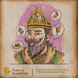 Inktober - Crown of Duhhhhhhh