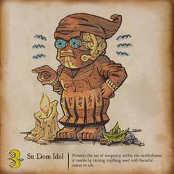 Inktober - Su Dom Idol
