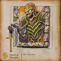 Inktober - Sword of Flaccidia