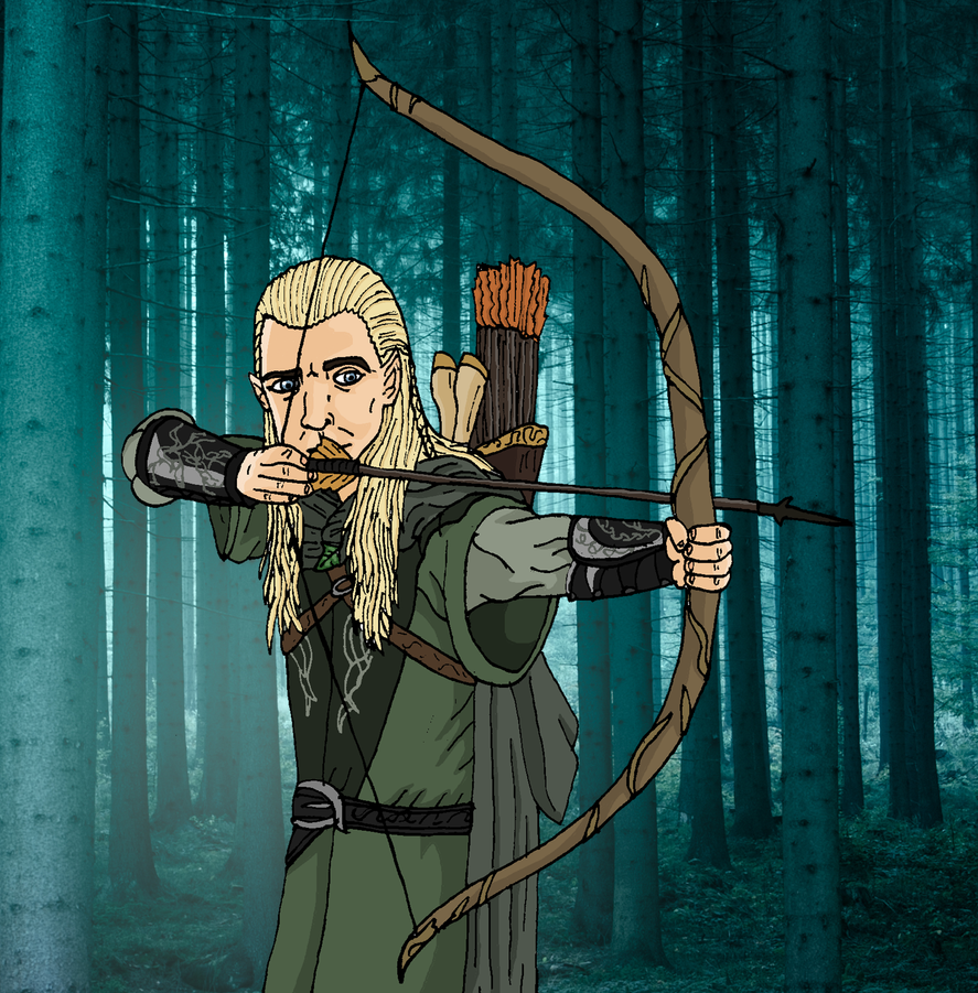 Legolas Wallpaper: Legolas Greenleaf By Faithless12