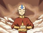 Avatar Aang - Meditation