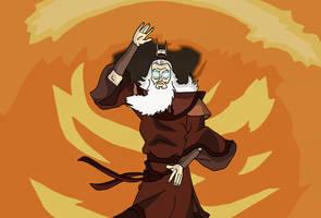 Avatar Roku - Avatar State by Juggernaut-Art