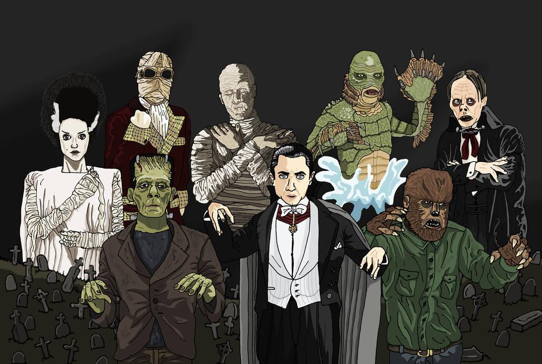 Universal Monsters Omm19 By Juggernaut Art On Deviantart