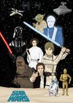 Star Wars - Original Trilogy Poster