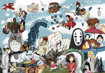 Studio Ghibli - Tribute